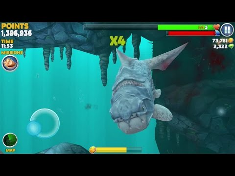 Hungry Shark Evolution: BIG DADDY (DUNKLEOSTEUS)