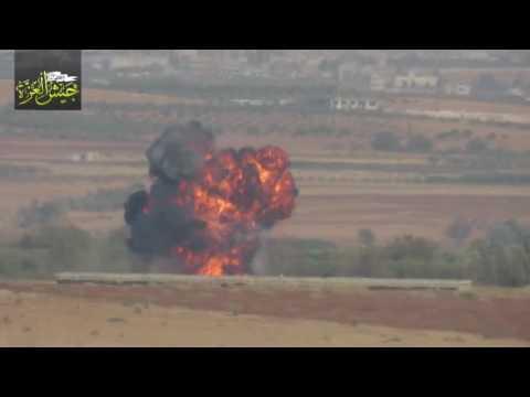 Сирійські повстанці заявили, що збили військовий гелікоптер (ВІДЕО)