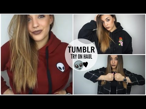 ♡ TUMBLR TRY ON HAUL ♡ Shein & Romwe ♡ | giuliagreco