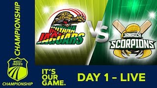 Guyana v Jamaica - Day 1   West Indies Championship   Thursday 7th February 2019