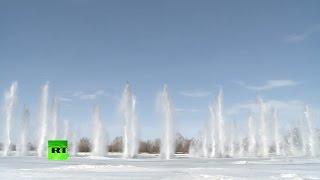 МЧС опубликовало видео подрыва льда на реках в рамках подготовки регионов России к паводкам