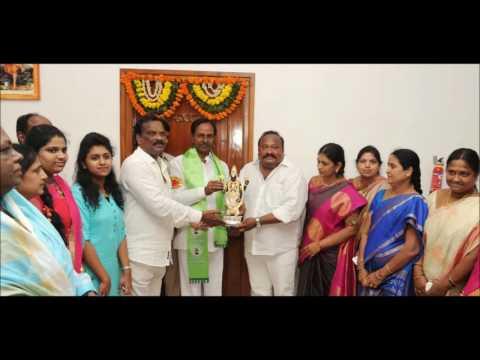 CM KCR Launch Haritha Haram 3rd Phase Karimnagar