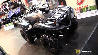 9. 2017 Yamaha Grizzly 700 Recreational ATV - Walkaround 2016 Toronto ATV Show
