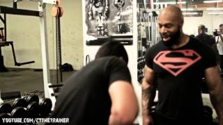 Next Stop: Mt Bicepius- Biceps Workout with CT Fletcher