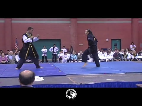 Hwa Rang Do® Demo by Grandmaster Taejoon Lee - 7th WMAE 2006
