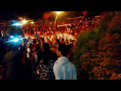Rombongan PSM Disambut Suporter di Bandara Sultan Hasanuddin