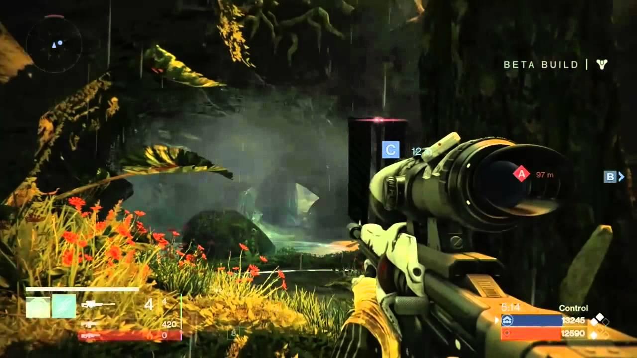Destiny Sniper Gameplay…Pop the Head and drop 'em dead.