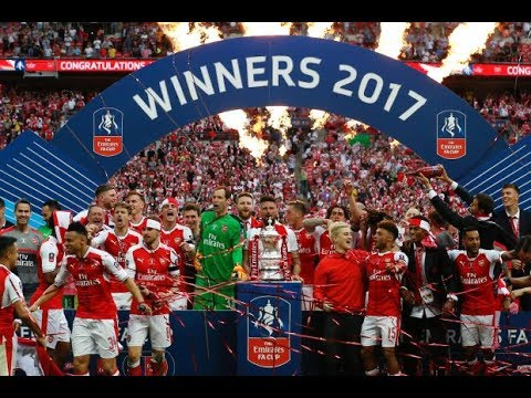 Arsenal 2017 FA Cup Winners Journey