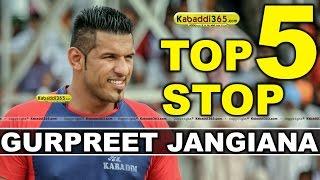 Top 5 Stop Gurpreet Jangiana at Kabaddi Tournaments