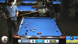 Pulo Open 8 Ball 2012 Final