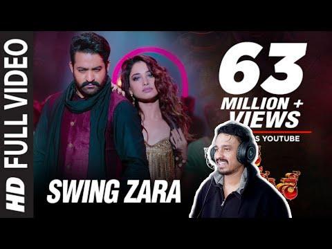SWING ZARA Video Song REACTION   JAI LAVA KUSA   JR NTR, Tamannaah   Devi Sri Prasad