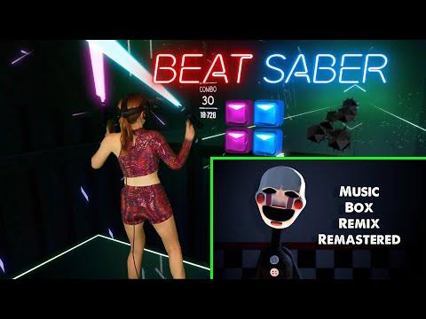 "Beat Saber - FNAF Song: ""Music Box Remix"" | Full Combo"