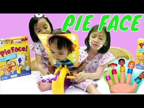 Mainan PIE FACE Lifia Niala - Daddy Finger - The Finger Family Song