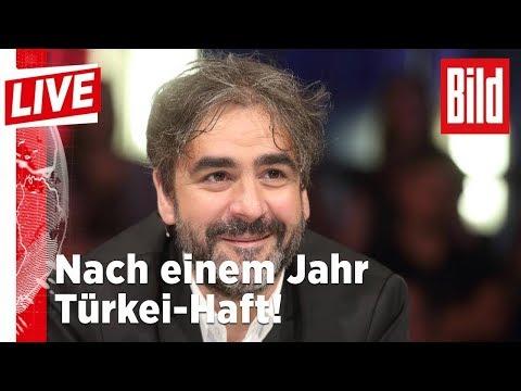 Endlich! WELT-Korrespondent Deniz Yücel kommt aus U ...