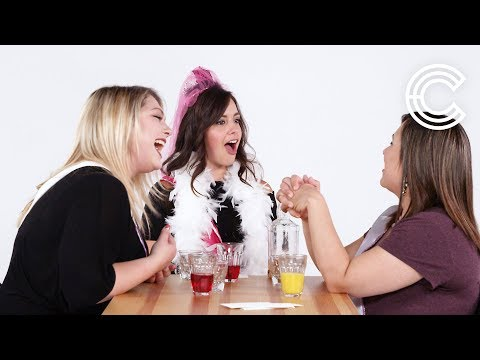 Bachelorettes and Bridesmaids Play Truth or Drink