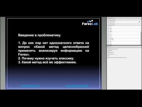 Методы анализа информации на FOREX