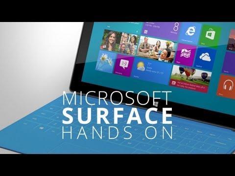 微軟 最新平板Surface 實機拍攝