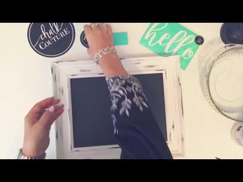 Chalk Couture Demo