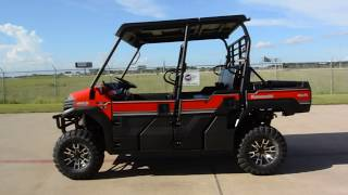 4. $16,099:  2017 / 2018 Kawasaki Mule Pro FXT EPS LE in Fire Cracker Red