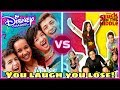 Try Not To Laugh Challenge! Disney Andi Mack VS Stuck In The Middle Stars | Disney Edition