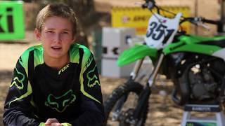 10. 2014 Kawasaki KX85/KX100 - Try Out