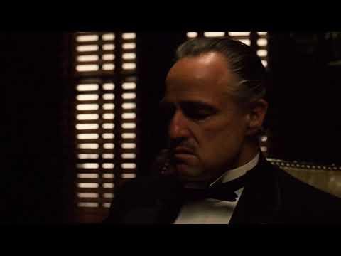 The Godfather I   Opening scene HD
