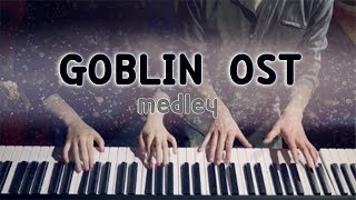 Goblin 도깨비 OST Medley 4hands piano cover