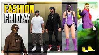 GTA 5 Online  FASHION FRIDAY! (Stylish & Casual Outfits)