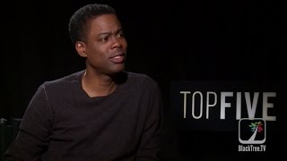 TOP FIVE: Chris Rock Interview on Eddie Murphy and Stand up