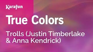 Karaoke True Colors - Trolls *