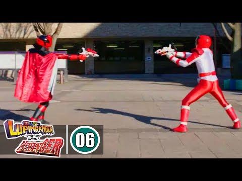 Siêu Nhân Chiến Đội Siêu Trộm vs Chiến Đội Cảnh Sát - Tập 6 : 2 Siêu Nhân Đỏ Đối Đầu - Thời lượng: 23:54.