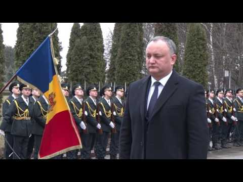 Moldovan president attends actions to commemorate tragic events of 1992