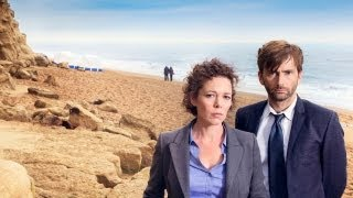 Don't miss the premiere of critically-acclaimed drama series BROADCHURCH, starring Doctor Who's DAVID TENNANT, ARTHUR DARVILL & OLIVIA COLMAN ...