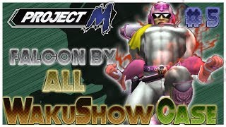 A French Project M Falcon combo video : Project M WakuShow Case 5