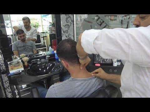 ASMR Turkish Barber Face,Head and Upper Body Massage 143 💆♂️👍💈