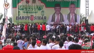 Video Kampanye Akbar Panggung Rakyat Djarot - Sihar MP3, 3GP, MP4, WEBM, AVI, FLV Mei 2018