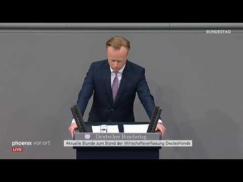 Bundestag: »Aktuelle Stunde« auf Antrag der FDP-Frakt ...