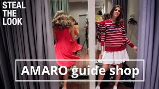 AMARO Guide Shop | Steal The Look