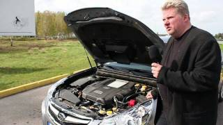 Subaru Legacy 2011 Auto Tests Latvijas Ceļos / Test Drive Subaru Legacy 2011 Latvia