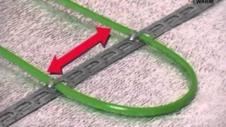 Монтаж теплого пола на основе нагревательного кабеля