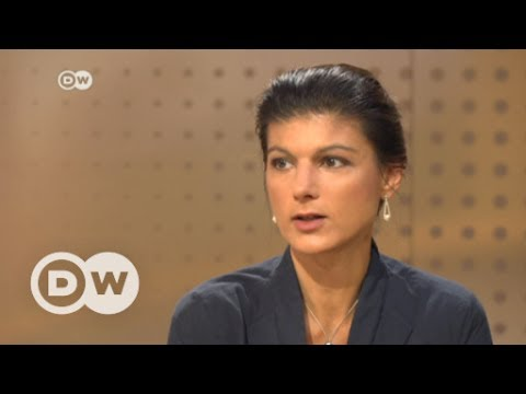 Sahra Wagenknecht: Interview mit Sahra Wagenknecht | DW ...