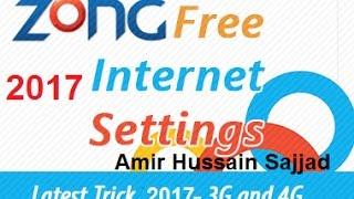 Is vedeo main mainay apko fast Zong Free internet all apps ka tarika bataya hai ...thanks for watching
