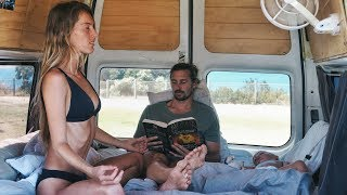 Video VAN LIFE: Morning Routine Living In A Van With a Toddler MP3, 3GP, MP4, WEBM, AVI, FLV Maret 2018