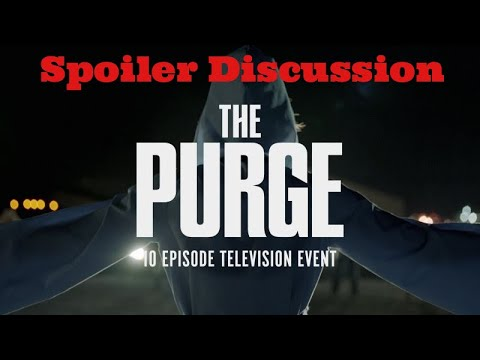 The Purge Season 1 Episode 8 The Giving Time Is Here Spoiler Discussion