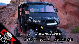 9. Oil Change - How To - Can Am Defender Max