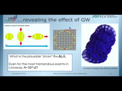 Elena Cuoco - Python in Gravitational Waves Research Communities