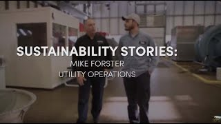 UB Sustainability Stories featuring Mike Forster, our on-campus energy whiz!