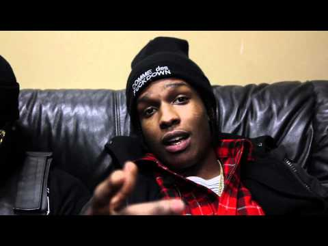 0 A$AP Rocky Discusses His Favorite Sneakers & Brands