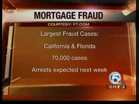 Mortgage fraud crackdown across the country by FBI