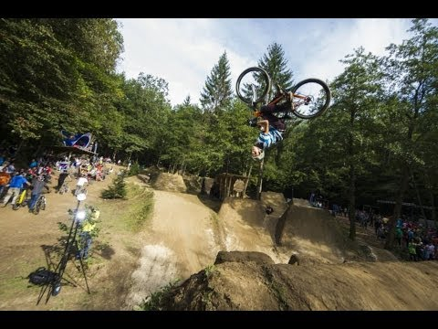 BMX & MTB dirt competition in Slovenia - Red Bull Wild Ride 2013 (видео)